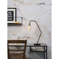 Schreibtischlampe PARIS mit Marmor-Fuß Schwarz