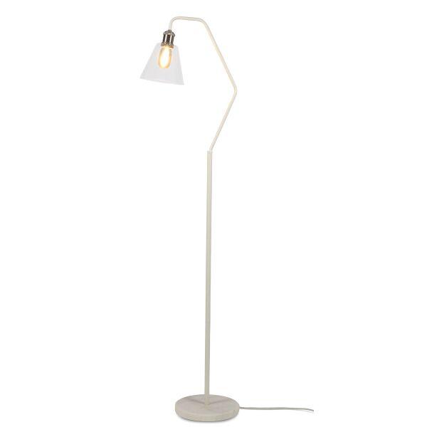 Stehlampe PARIS mit Marmor-Fuß Weiß