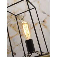 Tischlampe ANTWERP aus Metall Schwarz