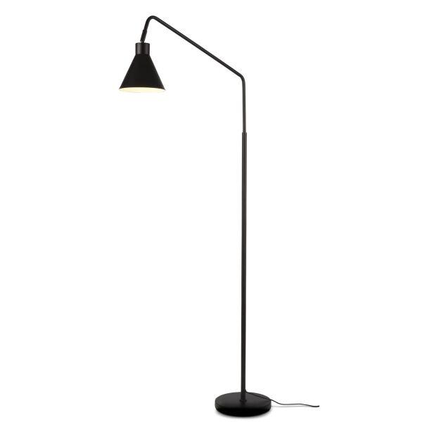 Stehlampe LYON drehbar Schwarz