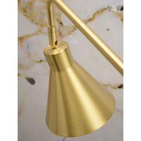 Stehlampe LYON drehbar Gold