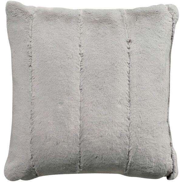 Kissen ASHA Kaninchen-Kunstfell 45x45 cm Perle