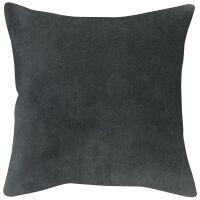 Kissen ELISE Velours/Baumwolle 45 x 45 cm Tonnerre