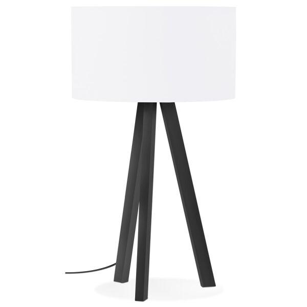 Tischlampe TRIVET MINI 3-beinig Schwarz Weiß