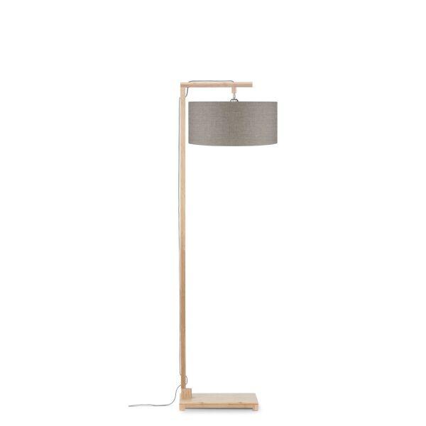 Stehlampe HIMALAYA Bambus/ÖkoLeinen H174cm Leinen dunkel
