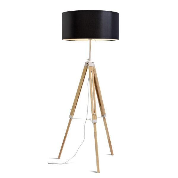 Stehlampe DARWIN Natur weiß/Schirm Ø60cm