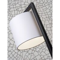 Tischlampe BOSTON mit Schirm Ø18x15cm