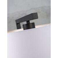 Tischlampe BOSTON mit Schirm Ø18x15cm Dark Grey