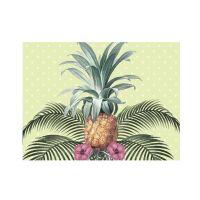 Vinyl-Tischsets, Colonial Pineapple im 4er-Set