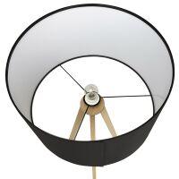 Stehlampe TRIVET schwarz-Natur