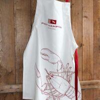 Schürze Lobster maritim Stil