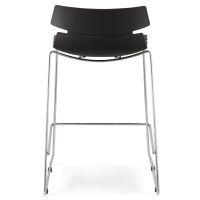 Barstuhl RENY schwarz Sitzhöhe 64cm