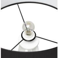 Stehlampe TRIVET schwarz-weiss