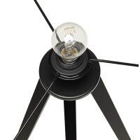 Stehlampe TRIVET grau-schwarz