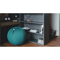 VLUV® LEIV Stoff-Sitzball Canvas Ø 70-75 cm Royal Blue