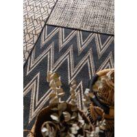 Teppich AXEL Naturel/Schwarz 60 x 110