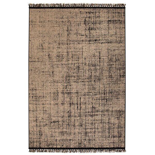Teppich AXEL Naturel/Schwarz 160 x 230