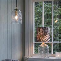 Lampenfuß BETTY aus Glas