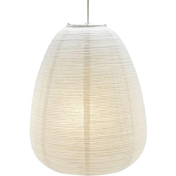 Lampenschirm MAKI aus Reispapier weiß