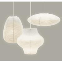 Lampenschirm SANI aus Reispapier weiß