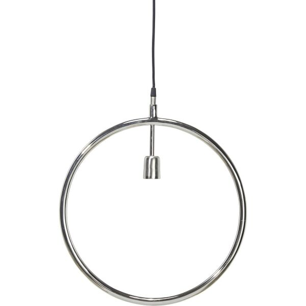 Pendelleuchte CIRCLE Ø45 cm Chrom