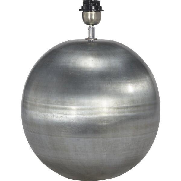 Lampenfuß GLOBE Antiksilber Ø40 cm