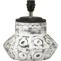 Lampenfuß LARRY Keramik Creme