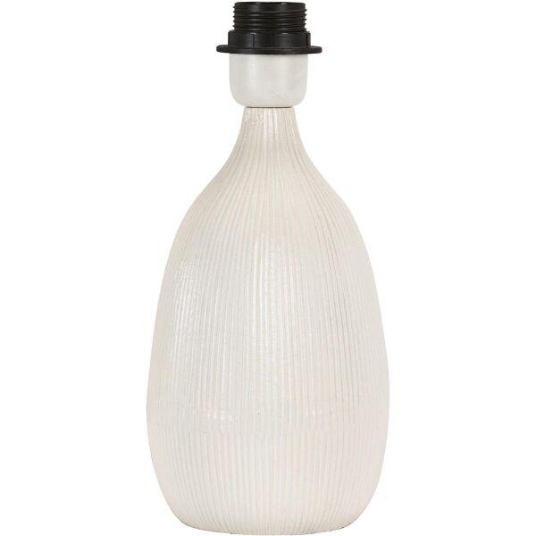 Lampenfuß BAYLEE 28cm weiß