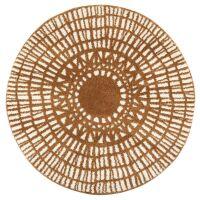 Teppich NOA Ø160cm Bronze