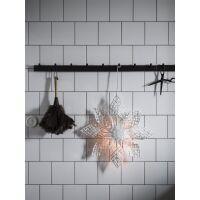 Weihnachtsstern ANNA STAR Rattan Weiss Ø68 cm
