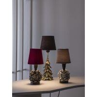 Lampenfuß Christmas Tree aus Metall, Antikgold