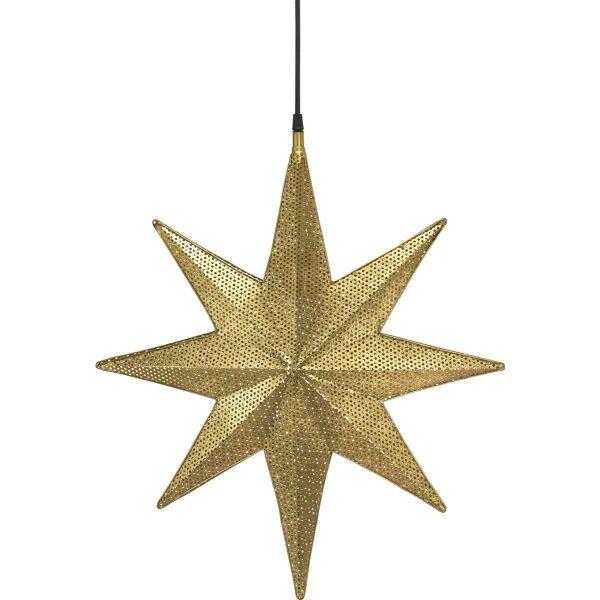 XXL-Weihnachtsstern CAPELLA Metall 50cm Gold