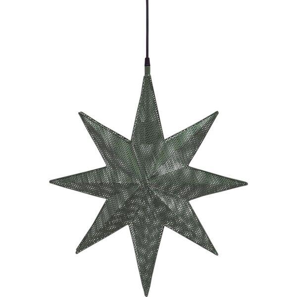 XXL-Weihnachtsstern CAPELLA Metall 50cm grün