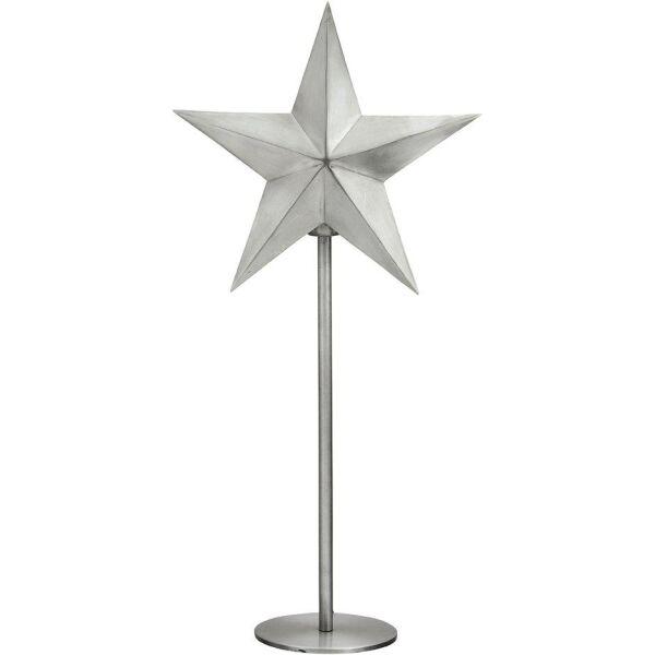 Standleuchte NORDIC STAR Silber 76cm