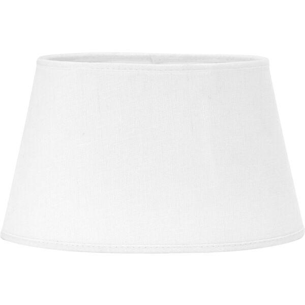 Lampenschirm INDI Leinen weiß 20cm