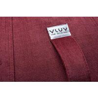 VLUV BOL VARM Stoff-Sitzball Chianti rot