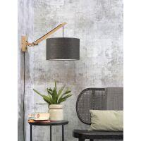 Wandlampe ANDES Gr.S Bambus naturel/Dunkelgrau