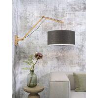 Wandlampe ANDES Gr.L Bambus naturel/Schirm Ø47cm...