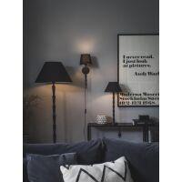Wandlampe CHLOE (ohne Schirm) 38cm schwarz