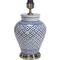 Lampenfuß Fang Hong Asia Style Keramik blau