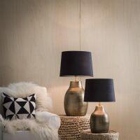 Lampenfuß HUMPHREY aus Metall Bronze