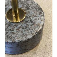 Lampenfuß TERRAZZO schwarz/blau 57 cm