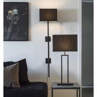 Lampenfuß ROD Metall schwarz 47 cm