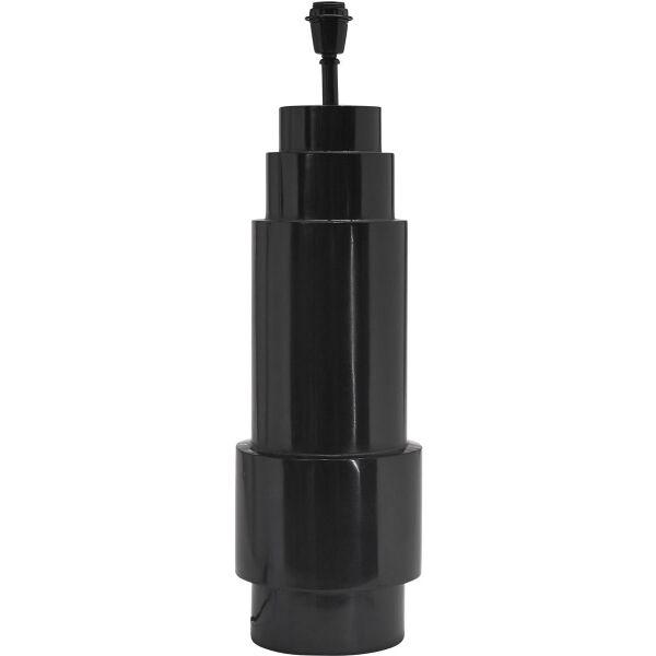 Lampenfuß EMPIRE XL 77cm Metall schwarz
