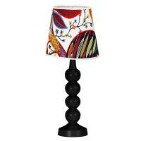 Tischlampe KENDALL mit Textilschirm