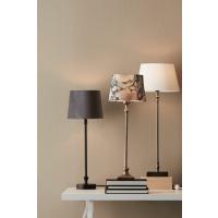 Tischlampe LIAM mit Samt-Schirm schwarz/grau