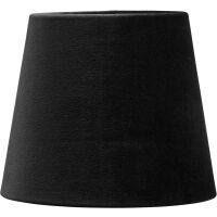 Lampenschirm MIA aus Samt schwarz Ø17 cm