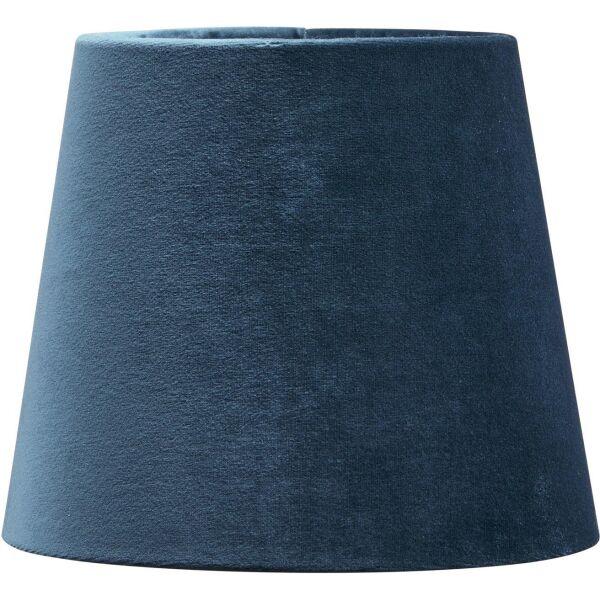 Lampenschirm MIA aus Samt Dunkelblau Ø17 cm