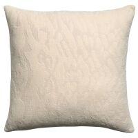 Kissen INES 100% Baumwolle Creme 45x45 cm