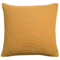 Kissen INES 100% Baumwolle Bronze 45x45 cm